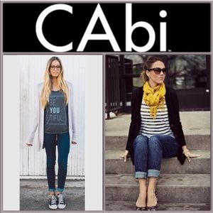 Cabi Straight Leg Dark Wash 334 Jeans Size 4